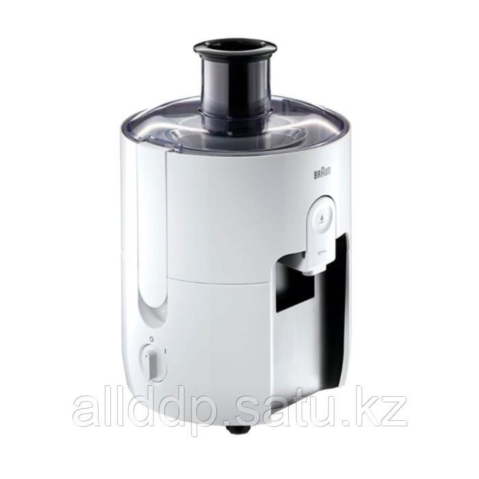 Соковыжималка Braun SJ 3100 WH, центробежная, 500 Вт, 0.75 л, белая