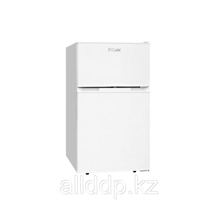 Холодильник BBK RF-098, двухкамерный, класс А+, 98 л, серебристый