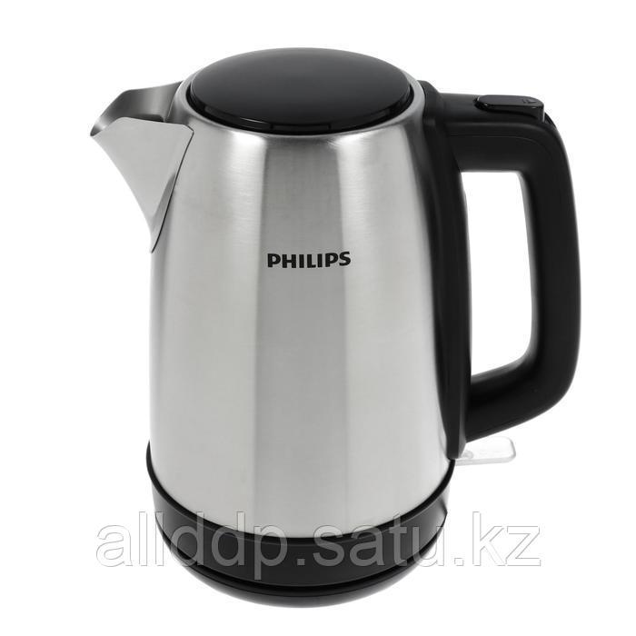 Чайник электрический PHILIPS HD 9350/91, металл, 1.7 л, 2200 Вт, серебристый
