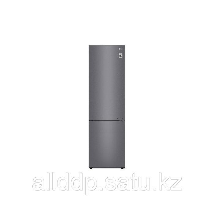 Холодильник LG GA-B509CLCL, двухкамерный, класс А+, 419 л, No Frost, инвертор, серебристый