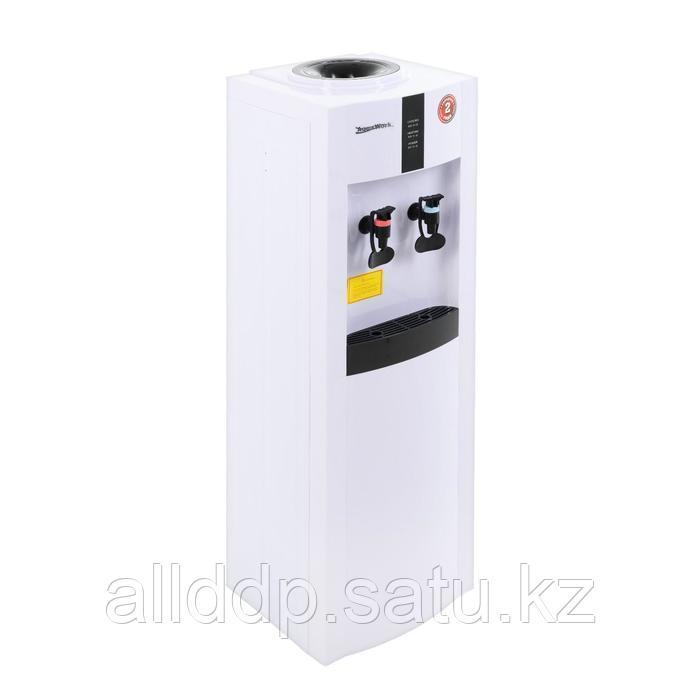Кулер для воды AquaWork AW 16L/EN, компрессорный, нагрев и охлаждение, 700/90 Вт, белый
