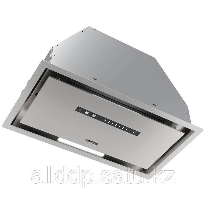 Вытяжка Körting KHI 6997 X, встраиваемая, 950 м3/ч, 5 скоростей, 60 см, серебристая