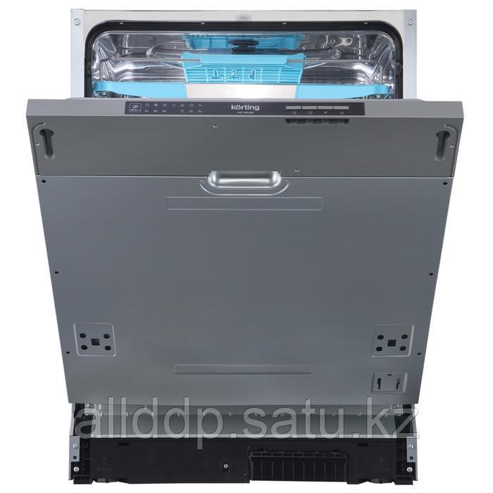 Посудомоечная машина Körting KDI 60340, встраиваемая, класс А++, 14 комплектов, 6 программ