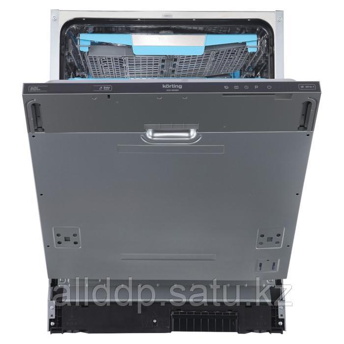 Посудомоечная машина Körting KDI 60980, встраиваемая, класс А++, 14 комплектов, 8 программ