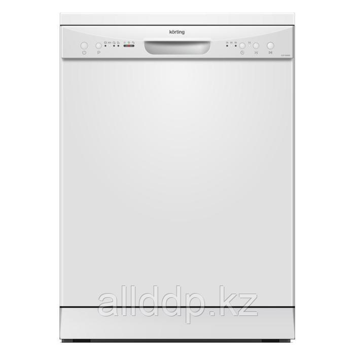 Посудомоечная машина Körting KDF 60060, класс А+, 12 комплектов, 4 программ, белая