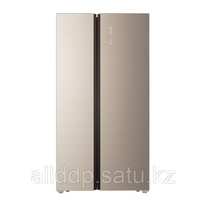 Холодильник Körting KNFS 91817 GB, Side-by-Side, класс А+, 518 л, Full No frost, бежевый