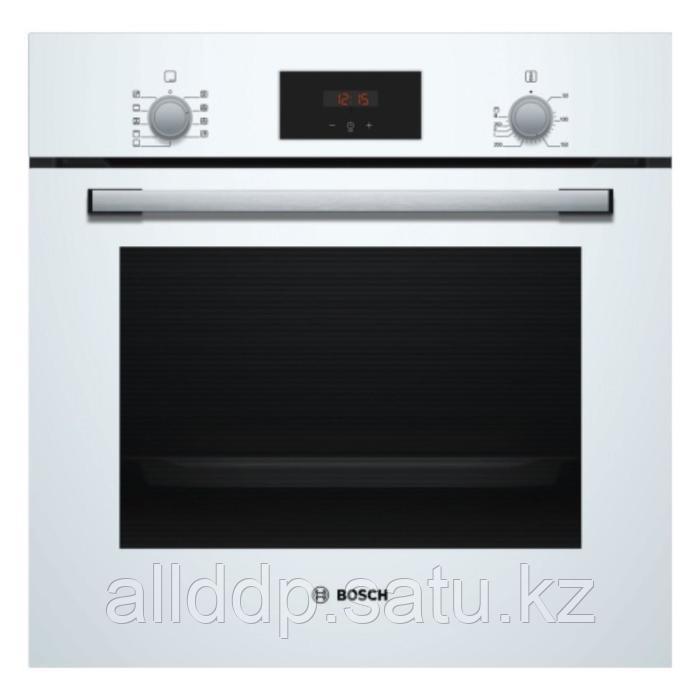 Духовой шкаф Bosch HBF134EV0R, электрический, 3300 Вт, класс А, 66 л, белый