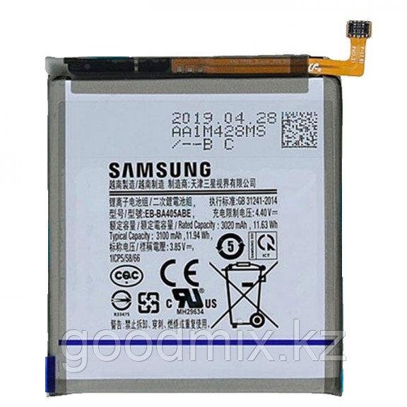 Заводской аккумулятор для Samsung Galaxy A40 (EB-BA405ABE, 3100 mah)