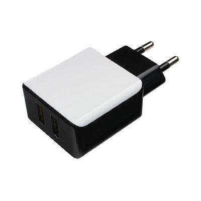 Сетевое зарядное устройство CABLEXPERT MP3A-PC-14 черно-белый