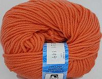 Пряжа для вязания Premiere (BBB Премьер) Оранжевый 2031