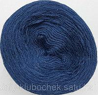 Пряжа для вязания Слонимская полушерсть (зимняя) Синий бархат