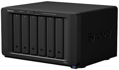 Сетевой накопитель Synology DiskStation DS1621+ черный