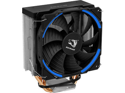 Cooler Aardwolf, for Socket 20xx/1366/115*/775/AMD, PROXIMA 360 BLUE, 1000-1800rpm, 4pin, TDP 140W