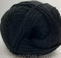 Пряжа для вязания Lanagold 800 (Ланаголд 800) Черный 60