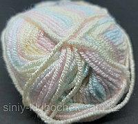 Пряжа для вязания Baby Best Batik (Беби Бест Батик) Желтый-айсберг-розовый 6655