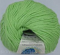 Пряжа для вязания Baby wool (Беби Вул) Салат 41