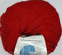 Пряжа для вязания Baby wool (Беби Вул) Темно-красный 106