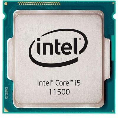 Процессор Intel Сore i5-11500 [LGA 1200, 6 x 2700 МГц, TDP 65 Вт, BOX] синий
