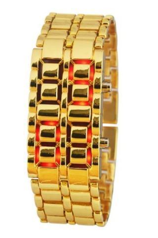 Часы наручные реплика Iron Samurai Gold
