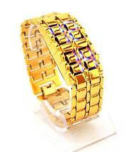Часы наручные реплика Iron Samurai Gold, фото 2