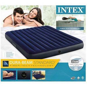 Матрас надувной INTEX Classic Downy Airbed (64755, 183х203х25 см)