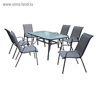 Комплект садовый KINGSTON (стол + 6 кресел)