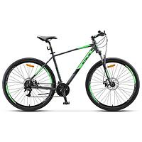 "Велосипед 29"" Stels Navigator-920 MD, V010, цвет антрацитовый/зелёный, размер 16,5"""