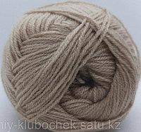Пряжа для вязания Lanagold 800 (Ланаголд 800) Песок 05