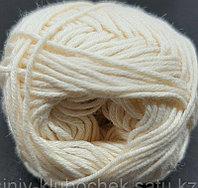 Пряжа для вязания Bella (Бэлла) Сливочный 01