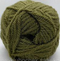 Пряжа для вязания Alpaca Royal (Альпака Ройал) Оливково-зеленый 233