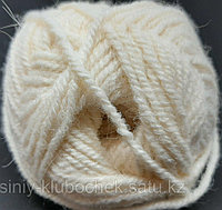 Пряжа для вязания Alpaca Royal (Альпака Ройал) Молочный 01