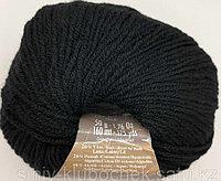 Пряжа для вязания Lanacoton (Ланакотон) Черный 60