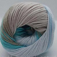 Пряжа для вязания Bella batik (Белла батик) Песочный айсберг 3675