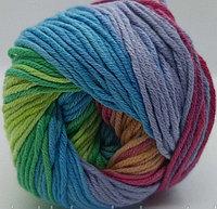 Пряжа для вязания Bella batik (Белла батик) Радужный 4151