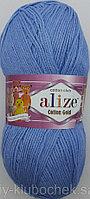 Пряжа для вязания Cotton Gold (Коттон Голд) Голубой 40