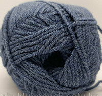 Пряжа для вязания Cotton Gold (Коттон Голд) Джинс меланж 203