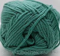 Пряжа для вязания Cotton Gold (Коттон Голд) Зеленая бирюза 610