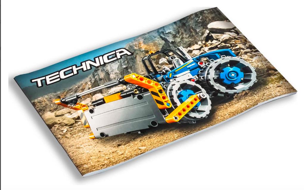 Конструктор «Бульдозер» лего техника, аналог Lego 42071 - фото 3