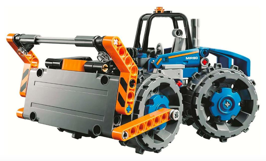 Конструктор «Бульдозер» лего техника, аналог Lego 42071 - фото 4