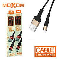 Moxom CC-55 3-метровый USB-кабель iPhone / Lightning для быстрой зарядки iPhone