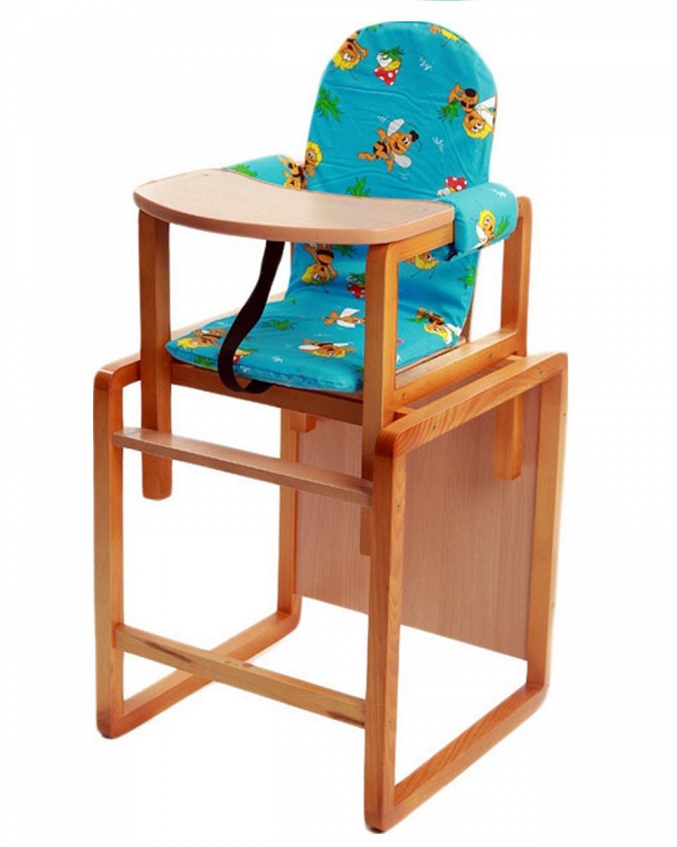 "Стол-стул для кормления ""Алекс"", голубой"