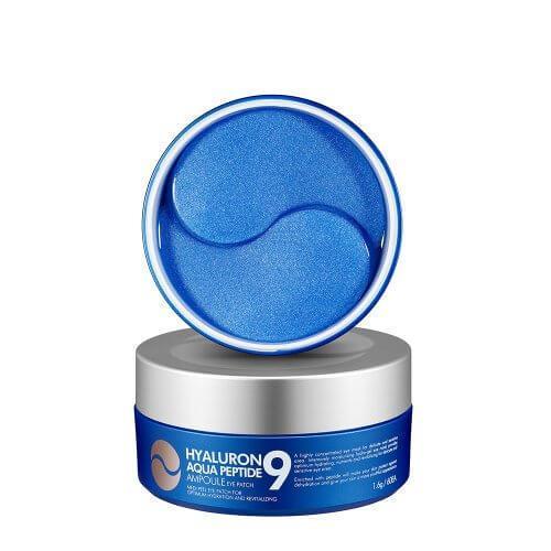 Medi-Peel Увлажняющие гидрогелевые патчи с пептидами Hyaluron 9 Eye Patch Aqua Peptide / 60 шт.