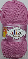 Пряжа для вязания Cotton Gold (Коттон Голд) Розовый 98