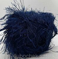 Пряжа для вязания Decofur (Декофур) Темно синий 58