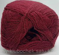 Пряжа для вязания Lanagold 800 (Ланаголд 800) Бордовый 57