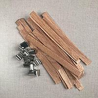 Фитиль деревянный с держателем