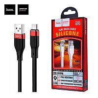 USB кабель Hoco U72 Silicone Lightning 1.2М Micro USB