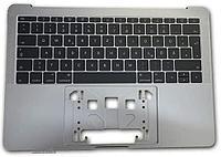 """Клавиатурный модуль (топкейс) Apple MacBook PRO 13"""" (A1708, 2017) Grey RU"""