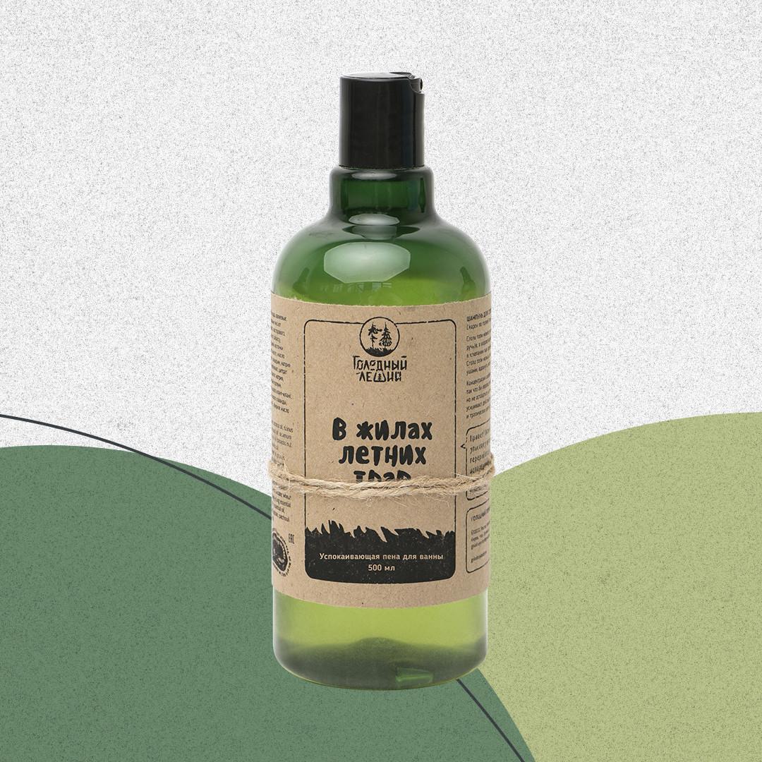 Пена для ванны «В жилах летних трав» на розлив. Голодный леший.