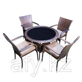 Столы и стулья. Обеденный комплект Круг